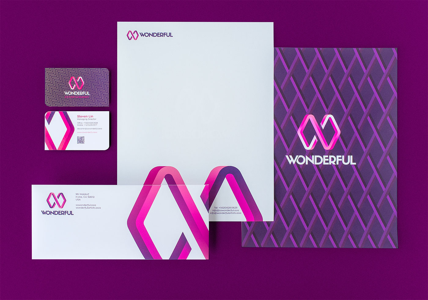 Outfit Branding & Design Wonderful Stationery