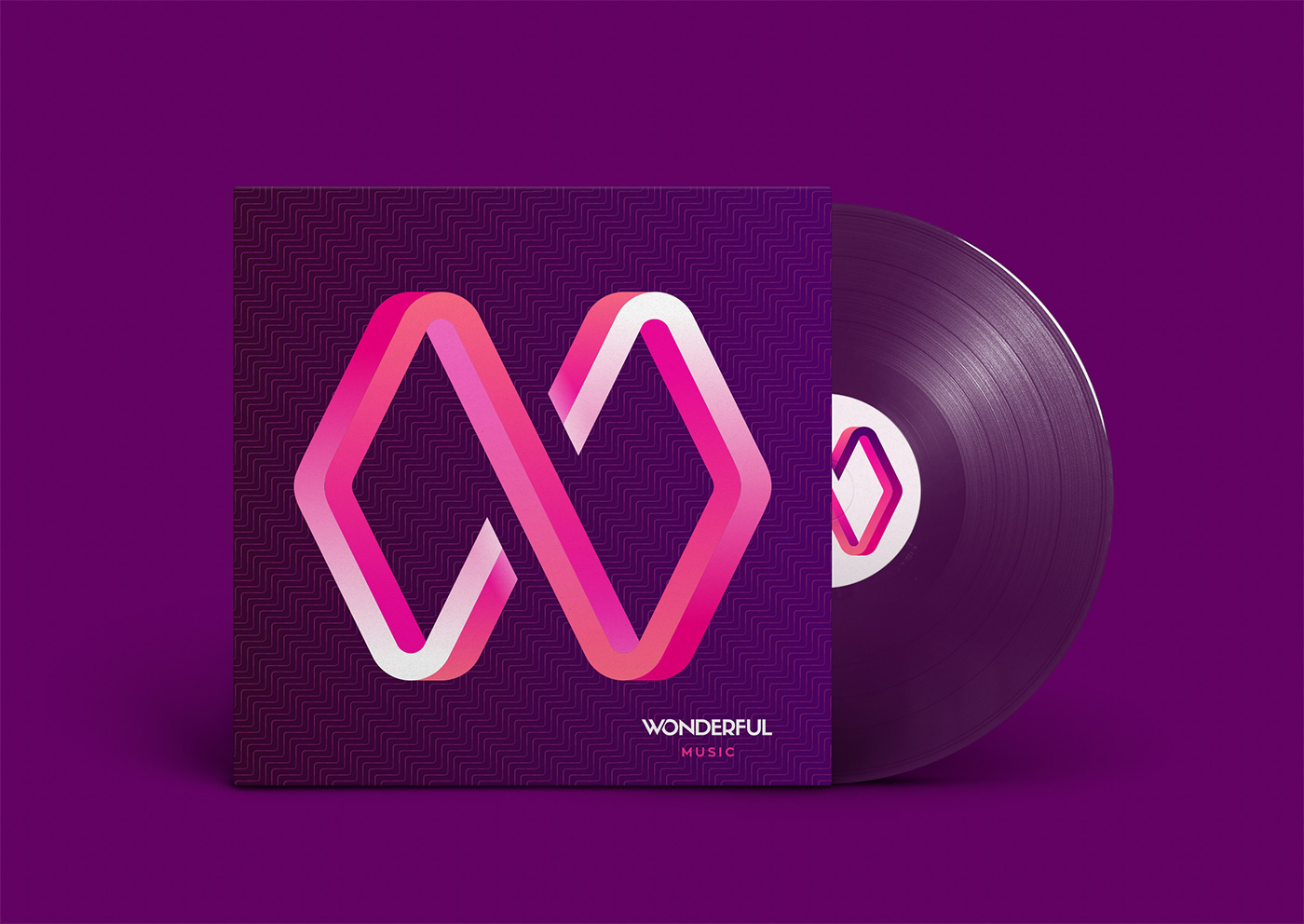 Outfit Branding & Design Wonderful Vinyl Record